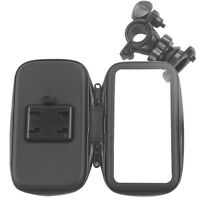 "Waterproof Motorcycle Handlebar Mount Holder Case Bag for 4.3"" GPS GARMIN NUVI"