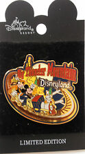 Disney Pin 7137 Big Thunder Mountain Railroad Slider 2001 Micky Goofy Train LE