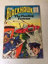 BLACKHAWK #93 floating fortress, break the TIME BARRIER, 1955, QUALITY, ORIGIN!!