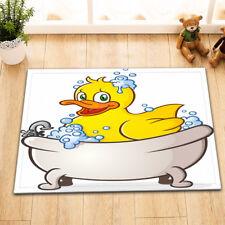 "Yellow Duck Bubble Bathing Non-Slip Home Docor Bathroom Mat Rug Carpet 24x16"""