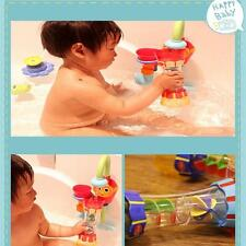2015 Kids Toddler Baby Bath Swim Plastic Toy Water Whirly Wand Cup Toys DIY 6L