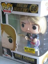 Funko Pop Kurt Cobain (Mint) w/Protector (Vaulted Retired) Figure Toy Rock Music