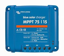 Victron Blue Solar MPPT 75/15 15 Amp Solar Charge Controller FEDEX 2nd Day Air