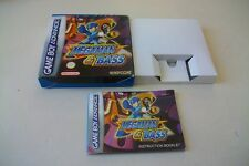 [BOITE ET NOTICE] Nintendo Gameboy Game Boy Advance Megaman & Bass