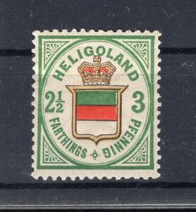Helgoland 17a Color MH + Signed (A6159