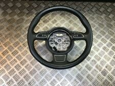 10-18 AUDI A1 8X MULTIFUNCTION LEATHER STEERING WHEEL (SCRATCHED)