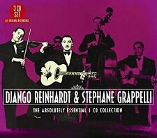 DJANGO REINHARDT & STEPHANE GRAPPELLI - THE ABSOLUTELY ESSENTIAL 3 CD COLLECTION