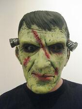 Karneval Fasching Maske Latex Frankenstein Monster Horror Kostüm neu
