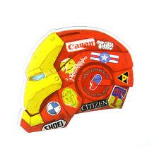 IRON MAN Canon BMW Shoei auto racing helmet style 7x8cm Decal Sticker #1151