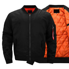 Army Men Bomber Jacket Winter Coat Flight Military Air Force Thick Tactical Coat
