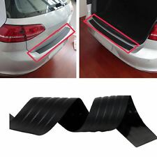 Door Sill Guard Bumper Protector Trim Cover Protective Strip Black for Chevy