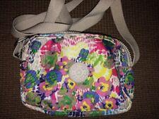 Kipling DEE Crossbody Shoulder Daisy Dance Bag Hipster Purse Bag Floral Flowers