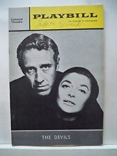 THE DEVILS Playbill Autographed JASON ROBARDS Tryout BOSTON 1965