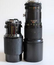 x2 Nikon F Mount Lenses -  Vivitar 400mm 5.6, & Series 1 70-210mm 3.5