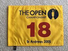 2005 British Open Flag Tiger Woods