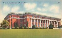 Postcard Tucson Senior High School Arizona