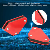 4PCS Steel Magnetic Welding Holder Angle Arrow Welding Fixed Corner 45°/90°/135°