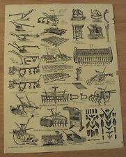 ORIGINAL 1890's ADVERTISING Flyer~