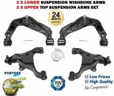 FOR NISSAN NAVARA D40 + PATHFINDER 2005-> 2 LOWER + 2 UPPER TOP SUSPENSION ARMS