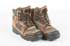 VASQUE Hiking Boots Womens 5.5 in Brown Leather Olive Green Nylon Clarion GTX