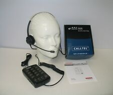 Telcent CT-1000 Feature Headset Telephone with Dual Headset Jack for Call Center