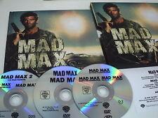 LIBRO ARTE + 3 PELICULAS DVD  MAD MAX TRILOGY