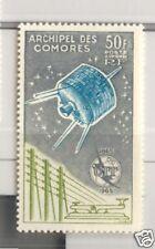 SPAZIO: SATELLITI - SATELLITE COMORO ISLANDS 1965