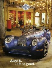 Morgan Aero 8 4.4 V8 2004-05 UK Market Foldout Sales Brochure
