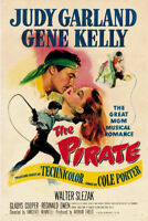 The pirate Judy Garland vintage movie poster print