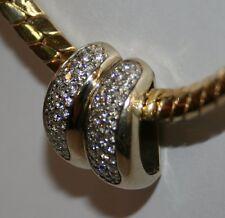 Anhänger 1,24 ct Diamanten 750 er Gelbgold 18 Kt sehr schön
