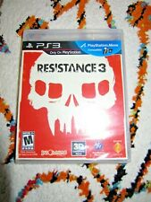 Resistance 3 (Sony PlayStation 3, 2011) PS3 Complete Sealed Black Label