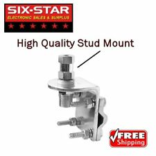 3 Way High Quality Antena Mirror Mount Bracket Best HD SO-239 Stud CB Ham Radio