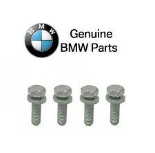 BMW E46 E85 Set of 4 Genuine Front Bolt With Washer Control Arm Bushing Bracket