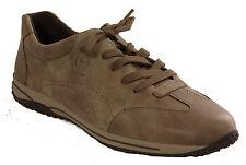 GABOR Schuhe Halbschuhe Schnürschuhe braun Leder G-Weite Wechselfußbett NEU