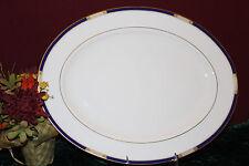 "Lenox Royal Treasure 16"" Oval Serving Platter NEW $314 USA second"
