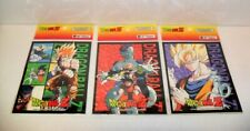 1999 ARTBOX DRAGONBALL Z SUPER-SIZE STICKERS LOT OF 3 AS PICTURED