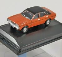 FORD CORTINA Mk3 in Sunset 1/76 scale model OXFORD DIECAST