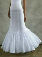 NEW! White David's Bridal Gown Slip Sz 4 Fit and Flare