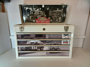 Mini mote carlo themed specialist 4 drawer metal toolbox wht ex display - 1 off