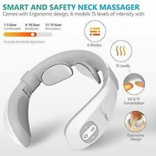 TENS Intelligent Electric Pulse Neck Massager for Pain Relief with Heat 6 Modes