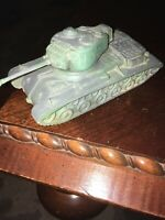 Vintage Army Tank Sold As Is!! Partially Repainted