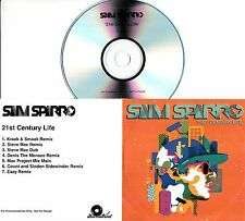 SAM SPARRO 21st Century Life 2008 UK 7-track promo test CD remixes