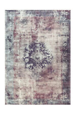 Arte Espina Teppich Vintage Oriental Design Lila Violett Creme 160x230cm