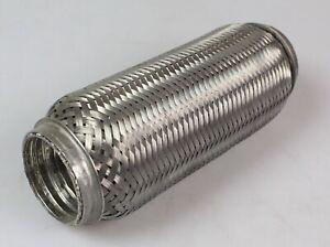 1 Stück TOP Flexrohr 200mm x 50 mm mit 10 mm Rohransatz Auspuffanlage F10227