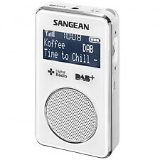 Sangean DAB+ / FM-RDS Personal Pocket Radio in White DPR35W