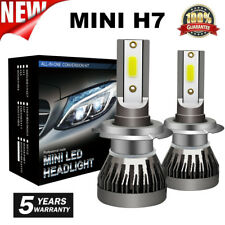CREE H7 1800W 270000LM 4-Sides LED Headlight Kit High or Lo Light Bulb 6000K