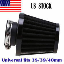 38mm 39mm 40mm Cold Air Filter Pod Cleaner Kit Motorcycle Pit Bikes Moped ATV US