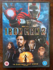 Iron Man 2 DVD 2010 Marvel Universe Movie w/ Robert Downey Jr