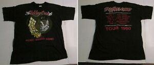 Vintage 1990 Motley Crue Dr Feelgood Tour Tee Shirt CA Home Sweet Home XL 46-48