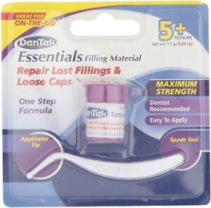 DenTek Temporary Dental Repair Kit for Lost Fillings & Caps Tooth Dentist